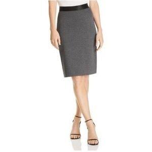 NWT Le Gali  Medium Grey Julene Skirt
